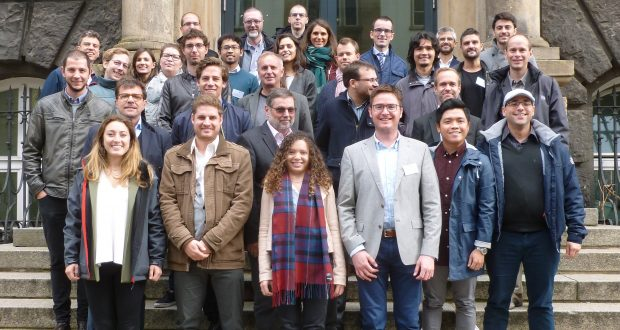 Group picture of the New-Mine consortium (Aachen, Sept. 2017)