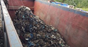 Combustibles from MSG Landfill (textiles, paper, 2D plastic)