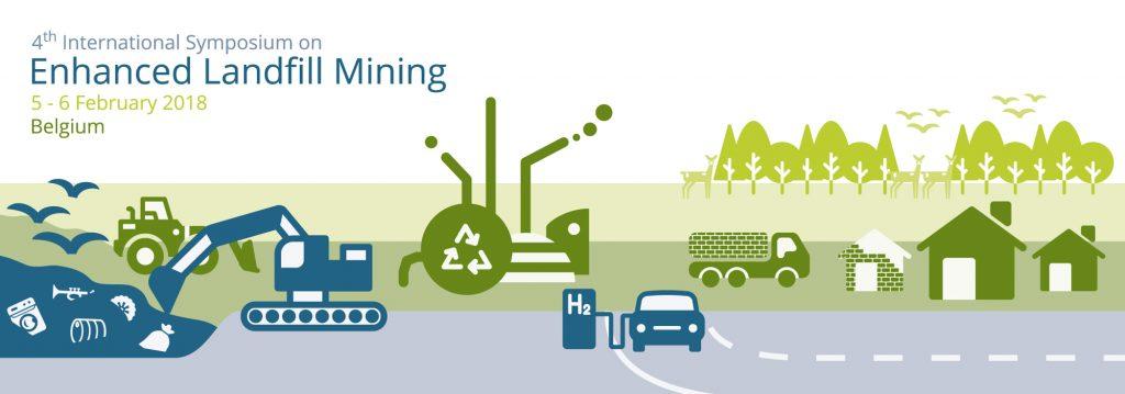 The fourth international symposium on Enhanced Landfill Mining takes place on February 5 & 6, 2018.
