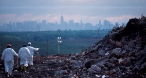Figure 1 - Fresh Kills landfill in New York City in 2011 [3]