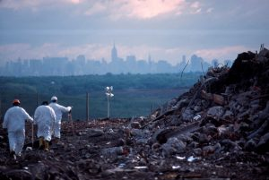 Figure 1 - Fresh Kills landfill in New York City in 2011 [3]
